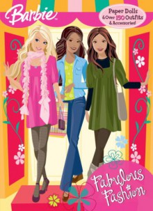 Fabulous Fashion (Paper Doll Book): Barbie - Golden Books