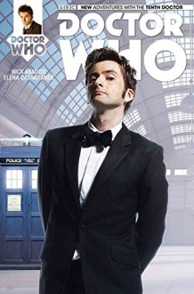 Doctor Who: The Tenth Doctor #1 Comickaze Variant - Nick Abadzis, Elena Casagrande
