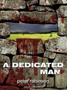 A Dedicated Man (Inspector Banks #2) - Peter Robinson,James Langton