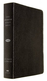 The Jeremiah Study Bible, NKJV: Black LeatherLuxe(TM) w/thumb index - David Jeremiah