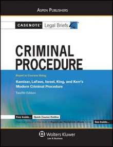 Criminal Procedure - Casenote Legal Briefs