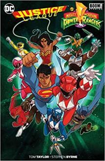 Justice League/Power Rangers - Tom Taylor,Stephen Byrne,Carolin Hidalgo