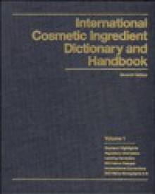 International Cosmetic Ingredient Dictionary and Handbook - Gerald McEwen, John A. Wenninger, Gerald N. McEwen, Gerald McEwen