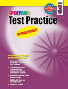 Test Practice, Grade 3 - McGraw-Hill Publishing, Spectrum
