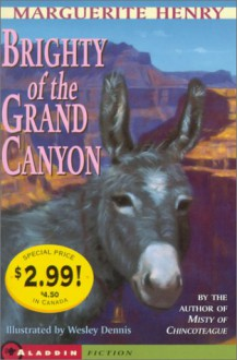 Brighty of the Grand Canyon - Wesley Dennis, Marguerite Henry