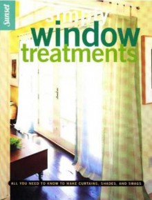 Simply Window Treatments - Sunset Books