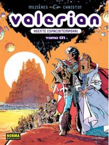 Valerian agente espaciotemporal Tomo Integral #1 - Pierre Christin, Jean-Claude Mézières, Rafael Marín Trechera
