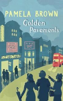 Golden Pavements (Blue Door) - Pamela Brown