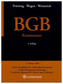 BGB : Kommentar - Hanns Prütting