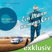 Ein Mann namens Ove - Fredrik Backman, Heikko Deutschmann, Argon Verlag