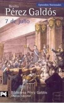 7 de julio - Benito Pérez Galdós