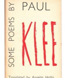 Some Poems - Paul Klee, Anselm Hollo