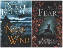 """The Kingkiller Chronicles Volume I and II """"Name of the Wind"""" and """"Wise Man's Fear"""" - Patrick Rothfuss"""