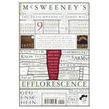 McSweeney's #9 - Dave Eggers
