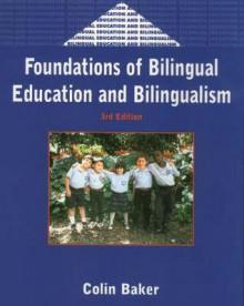 Foundations of Bilingual Edu.& Bil.3rd E - Colin Baker