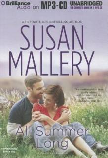 All Summer Long (Fool's Gold, #9) - Susan Mallery, Tanya Eby