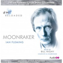 Moonraker (James Bond, #3) - Bill Nighy, Ian Fleming