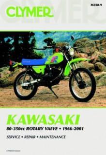 Clymer Kawasaki 80-350cc Rotary Valve, 1966-2001 - Clymer Publications