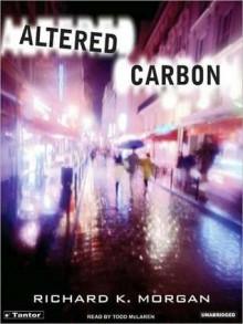 Altered Carbon (MP3 Book) - Richard K. Morgan, Todd McLaren