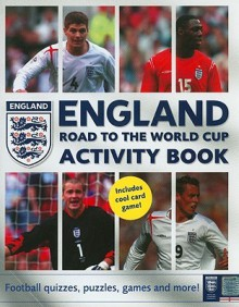 England Road to the World Cup Activity Book: Football Quizzes, Puzzles, Games, and More! - HarperCollins, HarperCollins
