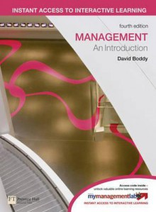 Management: An Introduction - David Boddy