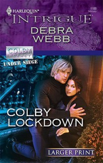 Colby Lockdown (Harlequin Intrigue (Larger Print)) - Valentina Luellen