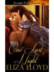 One Last Night - Eliza Lloyd