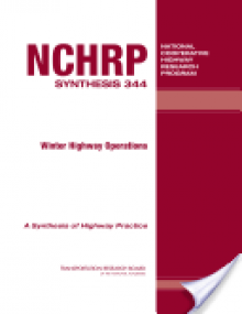 Winter Highway Operations - Steven M. Conger, National Cooperative Highway Research Program