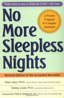 No More Sleepless Nights - Peter Hauri, Shirley Linde