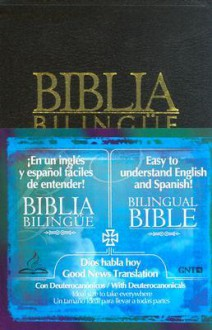 Dios Habla Hoy- Bilingue-Deut-Negro (Tab Index) - Anonymous
