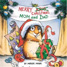 Merry Christmas Mom and Dad (A Golden Look-Look Book) - Mercer Mayer