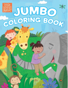 Little Words Matter Jumbo Coloring Book - B&H Kids Editorial Staff