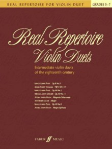 Real Repertoire for Violin Duets - Mary Cohen