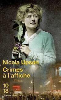 Crimes à l'affiche - Nicola Upson, Pascal Haas