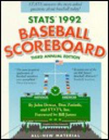 STATS 1992 Baseball Scoreboard 3rd Annual Edition - John Dewan, Don Zminda, Stats Publishing