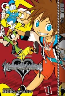 Kingdom Hearts Chain of Memories Vol. 1 - Shiro Amano
