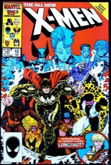 The All New X-Men #10 Giant Sized Annual (Performance: Introducing Longshot!, Volume 1) - Chris Claremont, Arthur Adams, Terry Austin