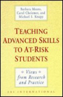Teaching Advanced Skills to At-Risk Students - Barbara Means