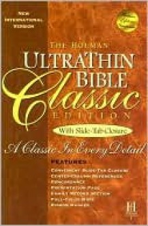 NIV Ultrathin Bible, Classic Edition - Anonymous