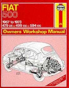 Fiat 500 Owner's Workshop Manual (Service & Repair Manuals) - John Harold Haynes