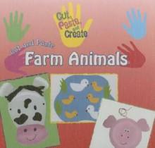 Cut and Paste Farm Animals - Rosie Hankin