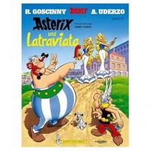 Asterix und Latraviata (German edition of Asterix and the Actress) - Rene de Goscinny