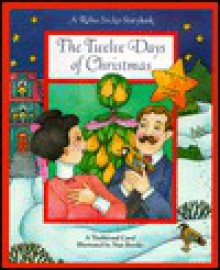 The Twelve Days of Christmas: Rebus Sticker Storybooks [With 2-Page Sticker Insert] - Nan Brooks