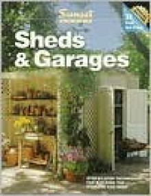 Sheds & Garages - Sunset Books