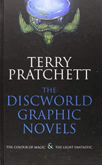 "The Discworld Graphic Novels: The Colour of Magic and The Light Fantastic: 25th Anniversary Edition: ""The Colour of Magic"", ""The Light Fantastic"" by Terry Pratchett (2-Jun-2008) Hardcover - Terry Pratchett"