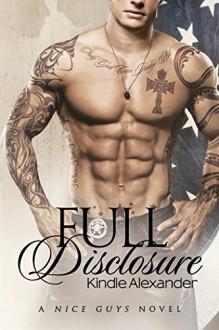 Full Disclosure (A Nice Guys Novel Book 2) - Kindle Alexander