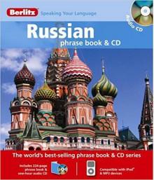 Berlitz Russian Phrase Book & CD - Berlitz Publishing Company, Berlitz Publishing Company