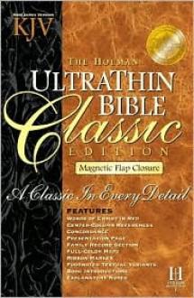 The Holman Ultrathin Bible KJV –King James Version - Anonymous