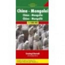 Map-China/Mongolia - Carte Freytag & Berndt