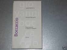 Giovanni Boccaccio : i poeti italiani / 3 - Giovanni Boccaccio, Natalino Sapegno, Sandro Onofri